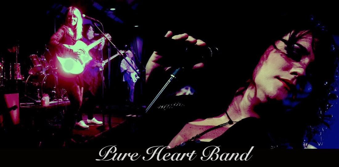 Pure Heart Band collage poster