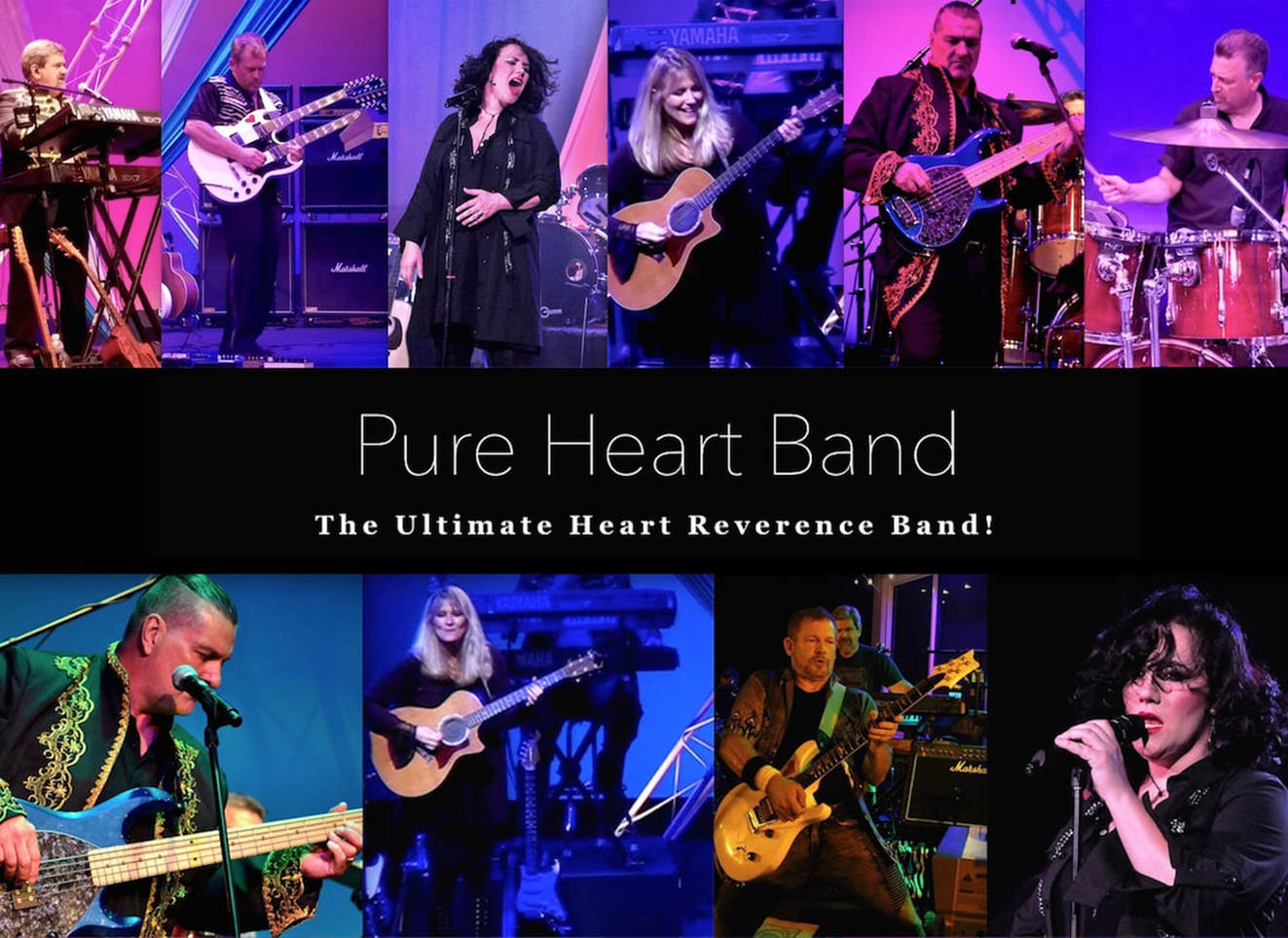 Pure Heart Band plays ultimate tribute to Heart